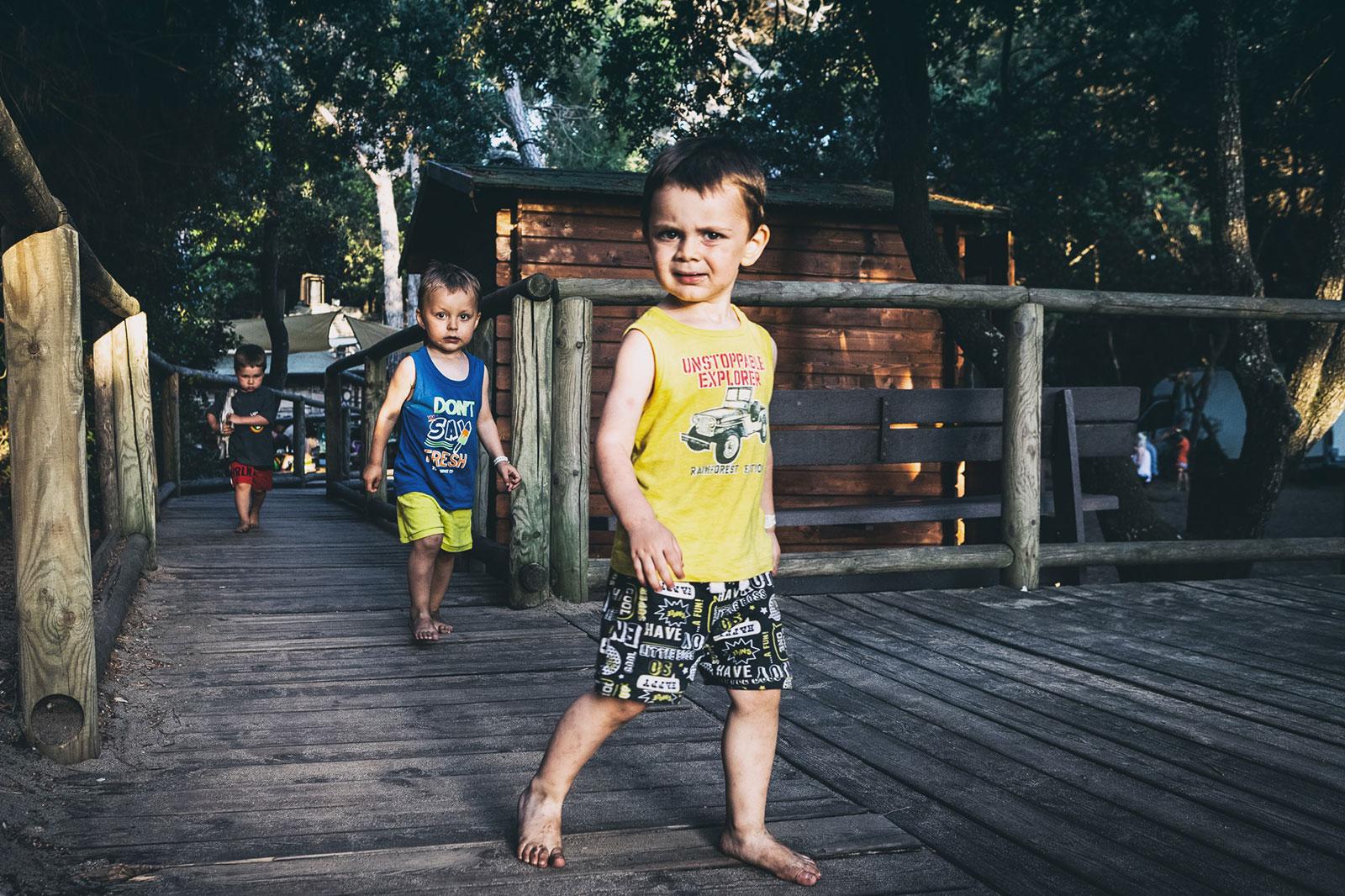 lago verde bambini